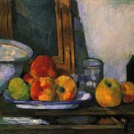 Paintings and Images by Cezanne_Still Life with an Open Drawer