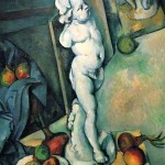 Paintings and Images by Cezanne_Stilleben mit Putto