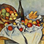 Paintings and Images by Cezanne_The Basket of Apples