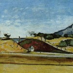 Paintings and Images by Cezanne_The Railway Cutting