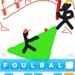 draw something_foul ball