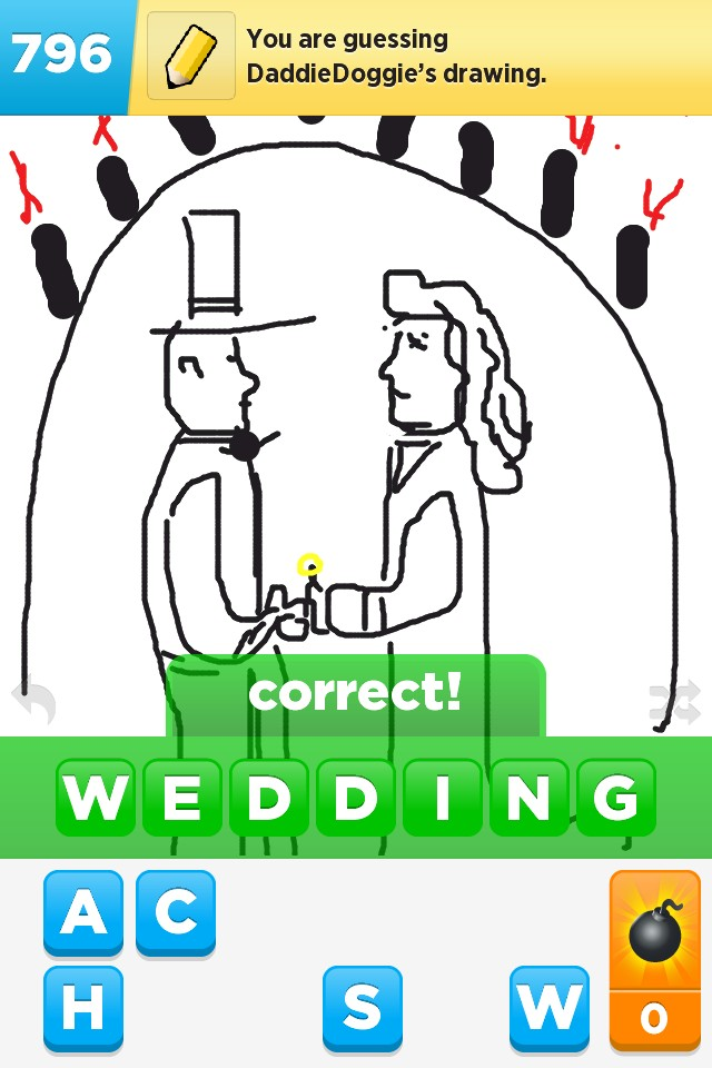 draw something_wedding