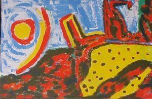 modern impressionism landscapes_abstract land