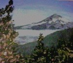 modern impressionism landscapes_mountain in distance