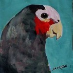 abstract paintings_parrot