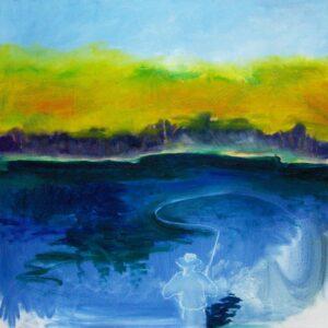 fishing painting