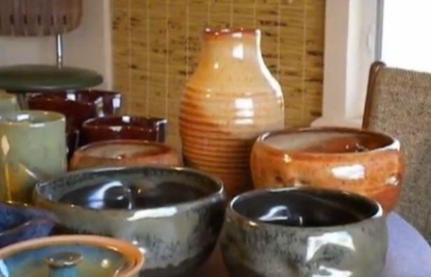 glazing pots