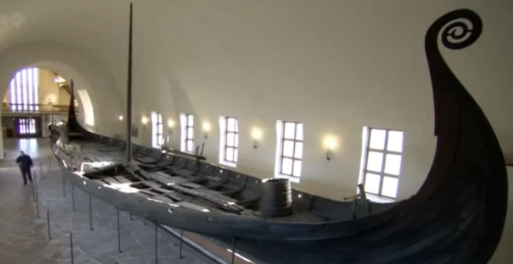Art of the Dark Ages Viking Ship