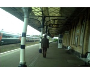 Exit Retford Railway Station Lincsonshire Circa 2008v. 300x225 Pine at the Summit.Poem.Sonnet.Robin Ouzman Hislop