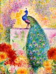 Jean_Metzinger,_1906,_A_Peacock,_oil_on_canvas
