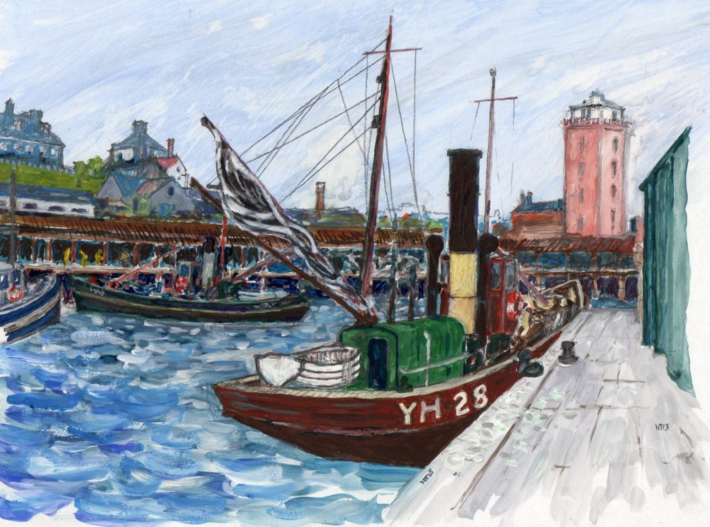 Fish Quay 1024x760 Fish Quay North Shields by Norman Tween
