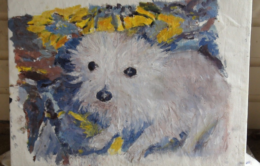 dog paintings for sale
