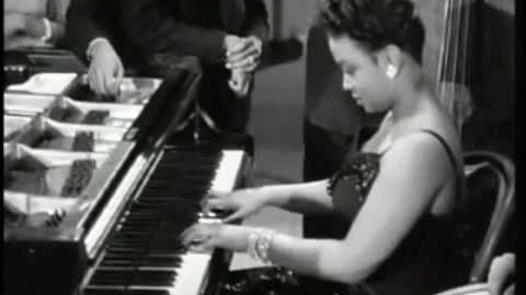 Hazel Scott Women Jazz Musicians