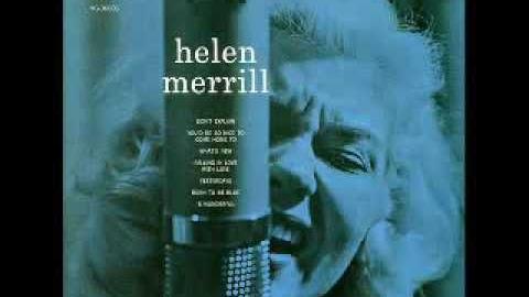 Helen Merrill Women Jazz Musicians