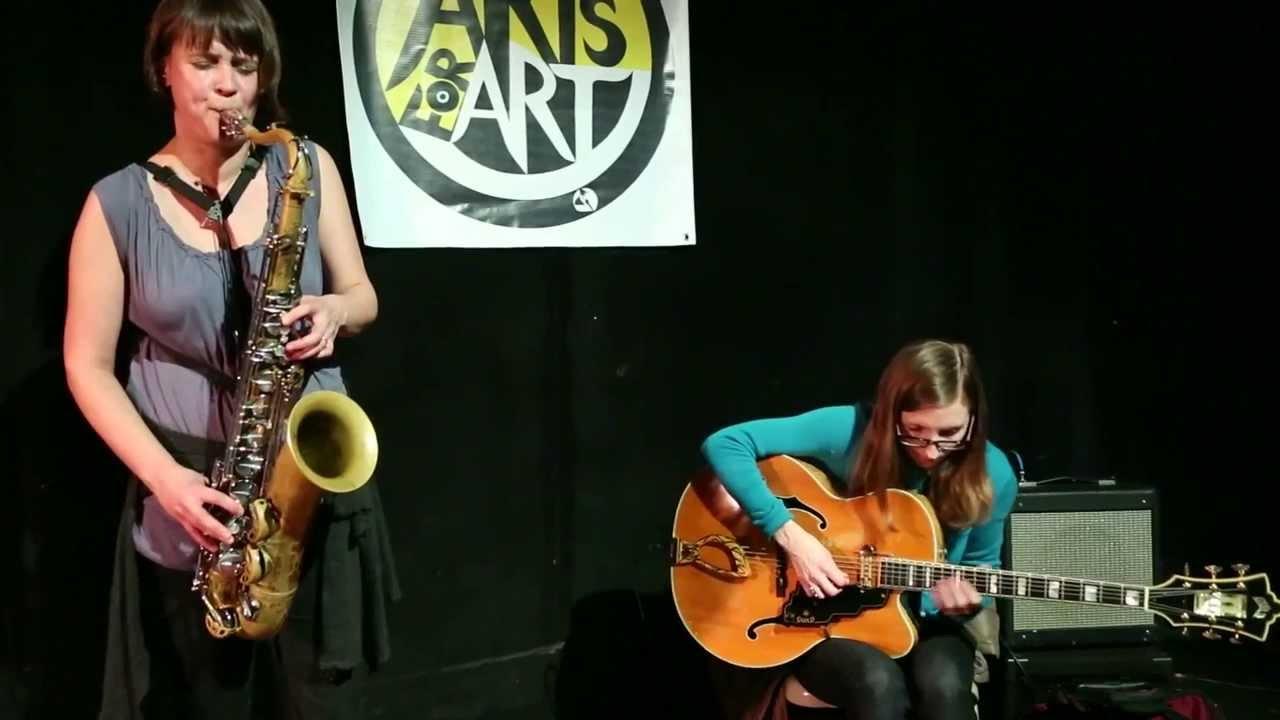 Ingrid Laubrock Women Jazz Musicians