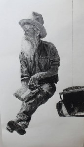Lifesize-charcoal-drawing-Preacher-Johnny