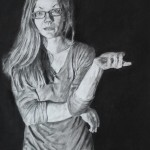 charcoal-drawing-of-Monica