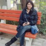 Sangeeta Majumder on bench