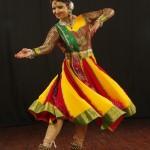 Sangeeta Majumder and Strings N Steps Multicolor dress