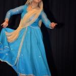 Sangeeta Majumder and Strings N Steps Blue Dress