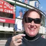 "the Janet Kuypers show ""Bases Loaded"" in Chicago (at Wrigley Field) poetry reading / feature 4/26/15 for ""the 2015 Poetry Bomb"""