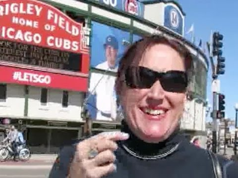 "the Janet Kuypers show ""Bases Loaded"" in Chicago (at Wrigley Field) poetry reading / feature 4/26/15 for ""the 2015 Poetry Bomb"","