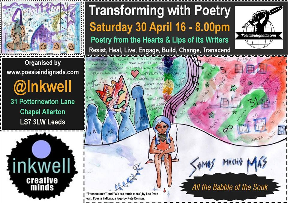 Transforming with Poetry. Juan Ramón Barat translated by Tony Martin-Woods (InkwellArts)Video Poem