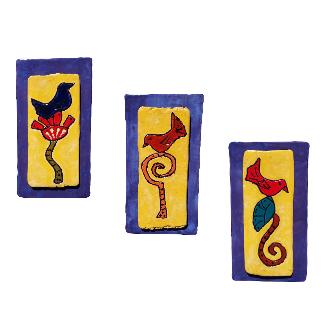 Ceramic Wall Accents
