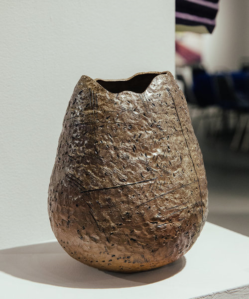 Wood Fired Pottery Sculpture