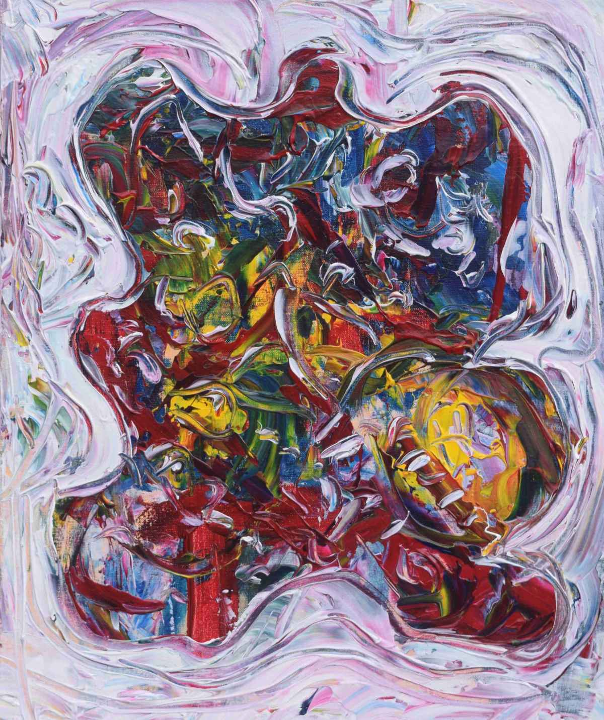 intense painting